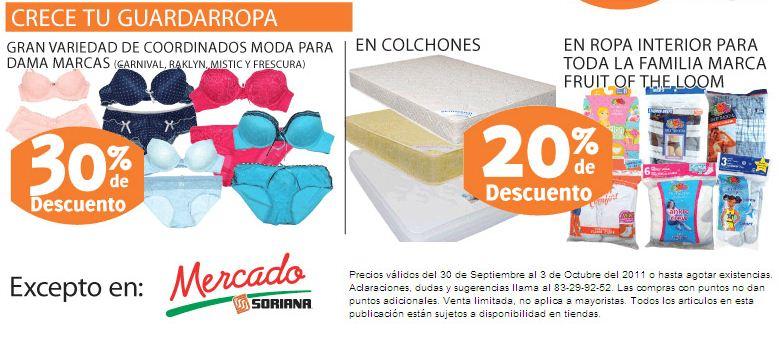 Soriana: 20% en monedero en refrigeradores, planchas, 3x2 en desodorantes, pañales en descuento y más