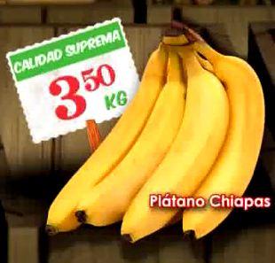 Tianguis de Mamá Lucha Bodega Aurrerá: plátano $3.50, chuleta $49, bistec $49 y más