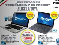Circular Best Buy: laptop i3 con 4GB RAM, 640GB DD y blu-ray $6,995, descuentos en TV LCD, LED y más
