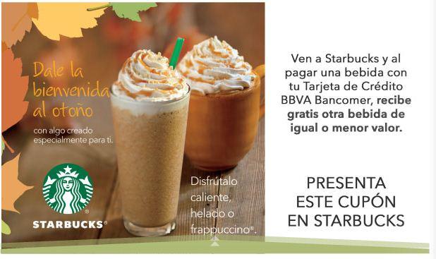 Ofertas para clientes Bancomer en Cinépolis, Starbucks, Domino's Pizza y más
