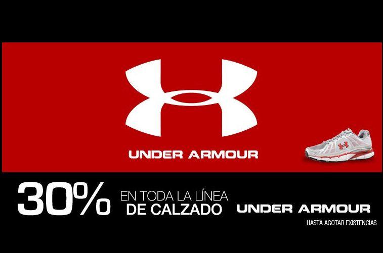 Martí: liquidación de calzado Under Armour con 30% de descuento