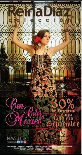 Reina Diaz: 30% de descuento en todas sus tiendas