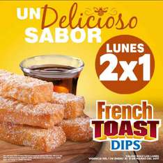 Carl's Jr: 2x1 French Toast Dips