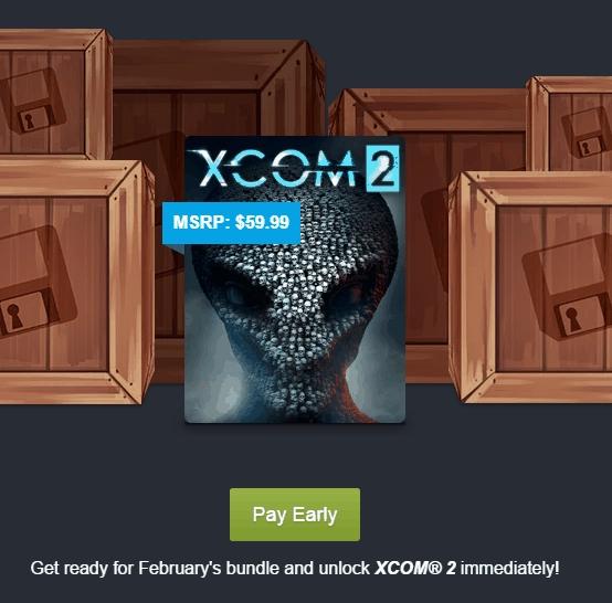 Humble Bundle: XCOM2 + juegos extra a 12 dólares
