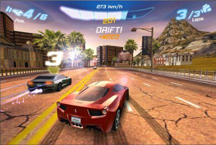 Juego Asphalt 6 para iPhone y iPad gratis por tiempo limitado