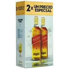 La Europea: 2 Johnnie Walker Red Label 750ml a $445.00