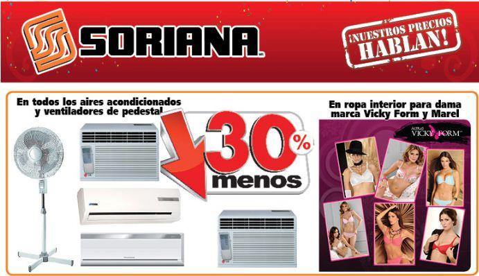 Soriana: descuentos en cámaras, pantallas LED, línea blanca, ropa interior y más