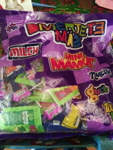 Superama Patio Pedregal CdMx: bolsa de dulces sonrics de 1kg