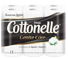 Amazon: Kleenex Cottonelle 12 rollos