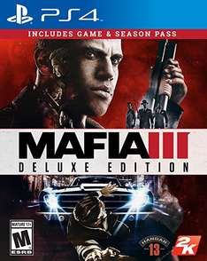 Amazon México: Mafia III Deluxe Edition - PlayStation 4 de $2299 a $899