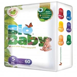 Bodega Aurrerá: Pañales Bio Baby Etapa 5 con 60 piezas