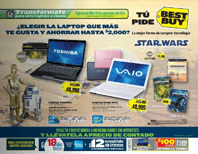 Circular Best Buy: descuentos en laptops, pantallas, consolas, teléfonos y mas