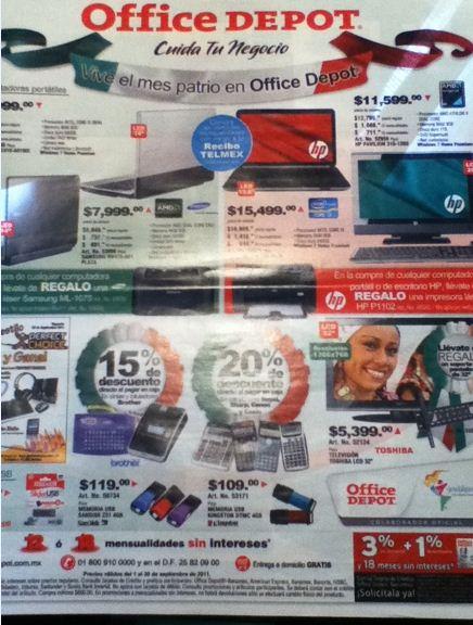 Circular Office Depot: descuentos en laptops, calculadoras, teléfonos, útiles escolares y más