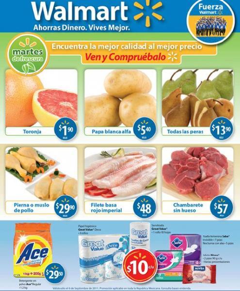 Martes de Frescura en Walmart: todas las peras a $13.90 Kg y más