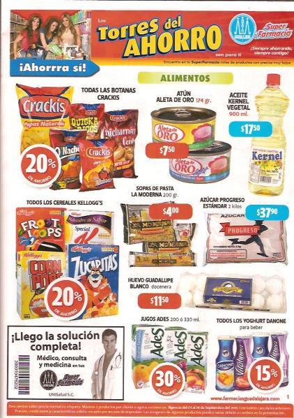 Circular Farmacias Guadalajara: 2x1 en desodorantes Lady Speed Stick, Stefano, pasta de dientes Colgate y más