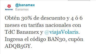 Volaris: 30% de descuento y hasta 6 MSI pagando con Banamex