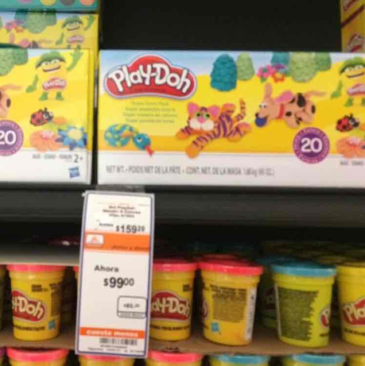 Chedraui 1 Coatzacoalcos: Play-Doh 20 piezas