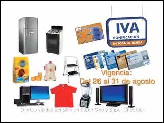 Chedraui: Bonificación del IVA pagando con Bancomer