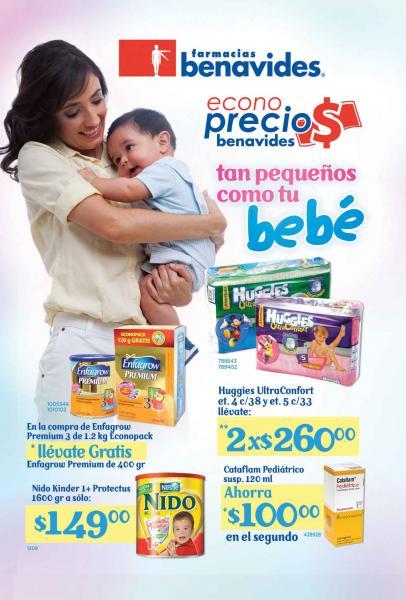 Circular Farmacias Benavides: descuentos en pañales, Mustela, Mennen, L'oreal y más