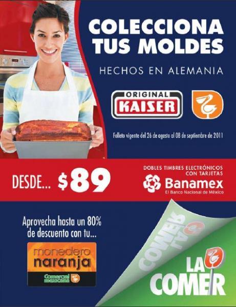 """Circular Comercial Mexicana: pantalla LED 40"""" y blu-ray $11,498, descuentos en alimentos y más"""
