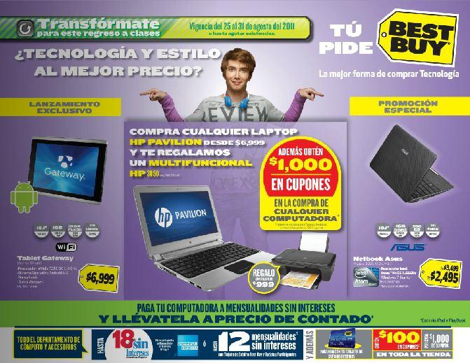 Circular Best Buy: Mini laptop $2,495, Wii Fit Plus $1,345, $1,000 en cupones y funcional con computadora y más ofertas