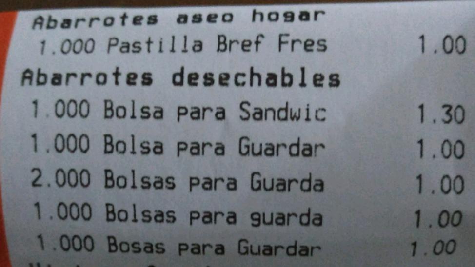 Chedraui Santa Ana, Campeche: paquete de 75 bolsas a $1.00