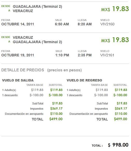 VivaAerobus: Guadalajara - Los Cabos redondo $269 total y otros destinos