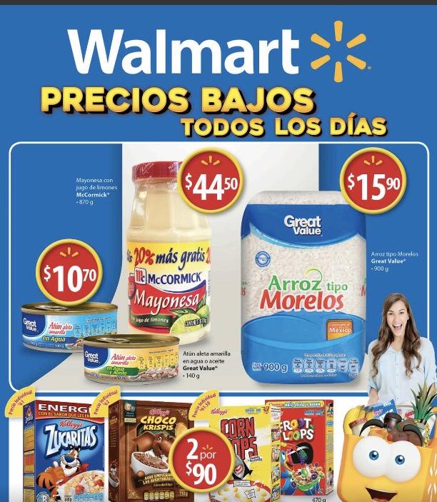 Walmart: Nuevo folleto digital del 18 al 31 de Enero del 2017