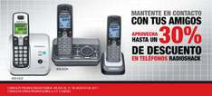 RadioShack: 3x2 en todos los accesorios y hasta 30% en teléfonos