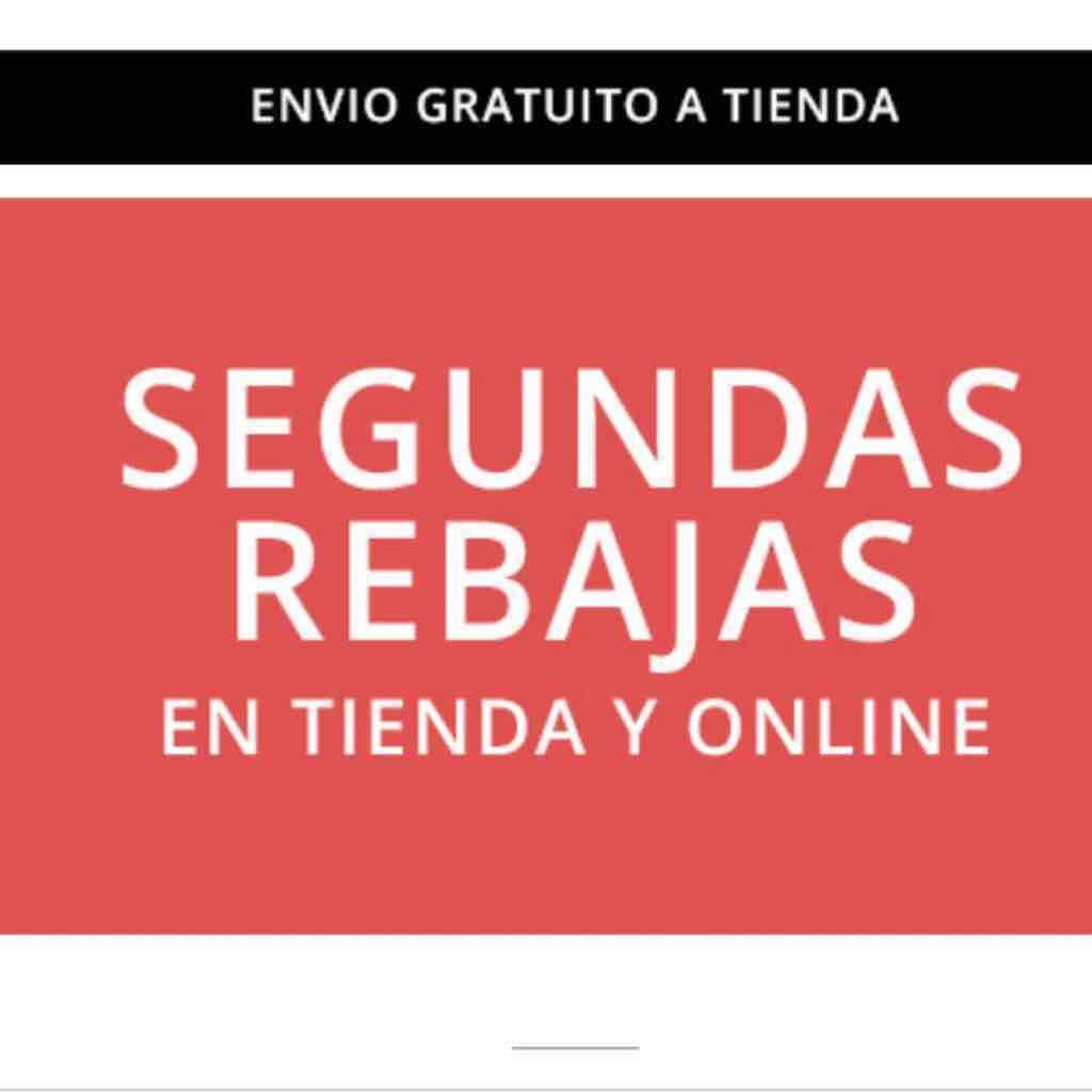 Tiendas Inditex: Segundas Rebajas (Zara, Bershka, Stradivarius, Pull&Bear...)