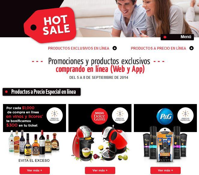 Ofertas de Hot Sale México 2014 en Superama ($300 de descuento por cada $1,000 en vinos y más)