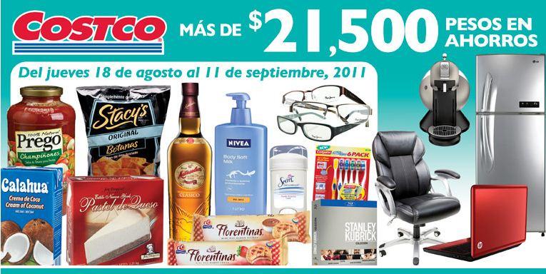 Cuponera Costco agosto 18: descuentos en medicinas, vinos, pantallas y más.