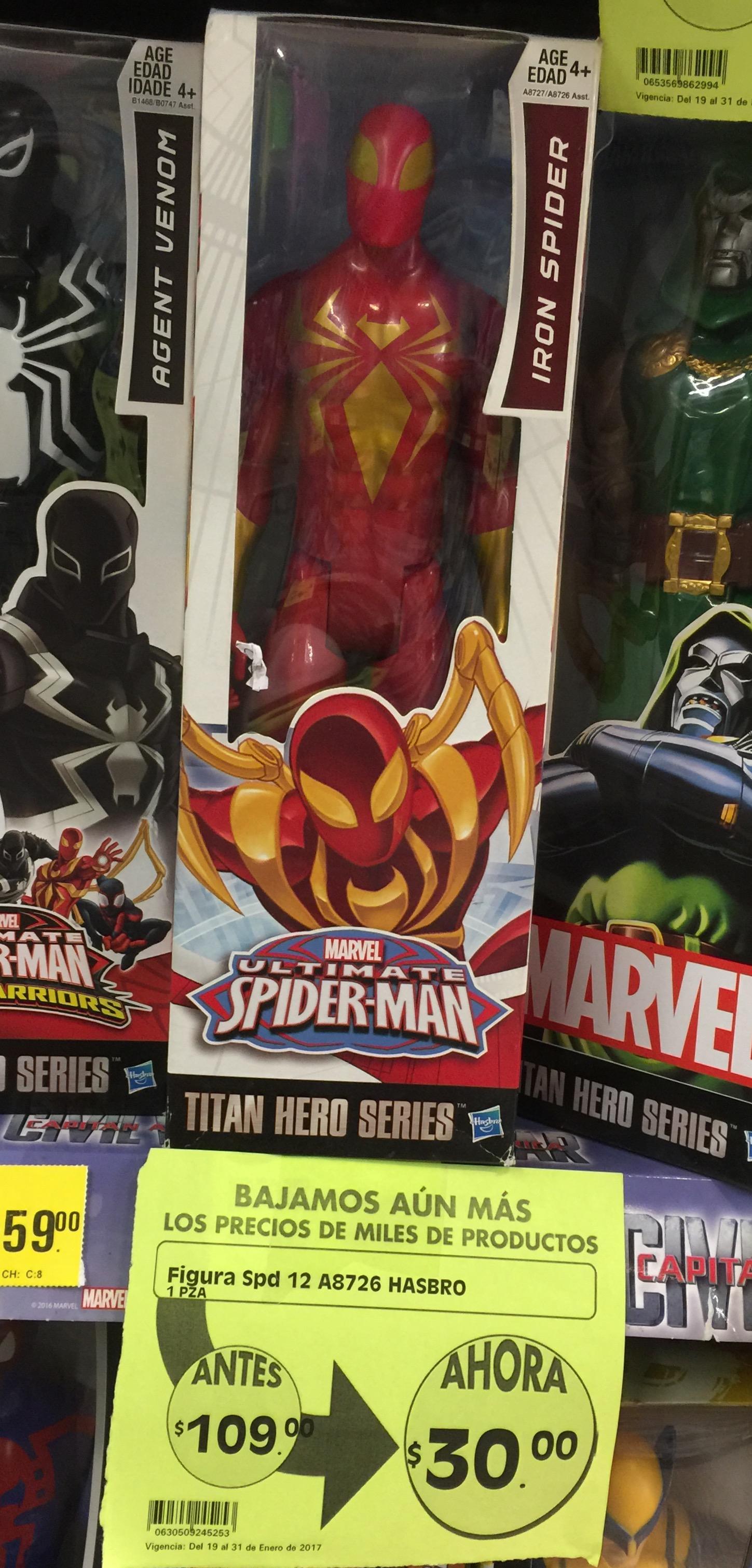 La Comer: Spiderman Básico