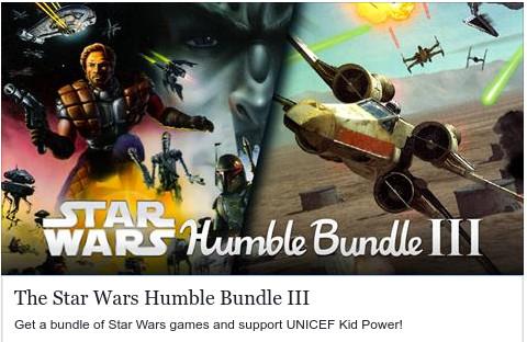 Humble Bundle: Pack de juegos de Star Wars desde $22