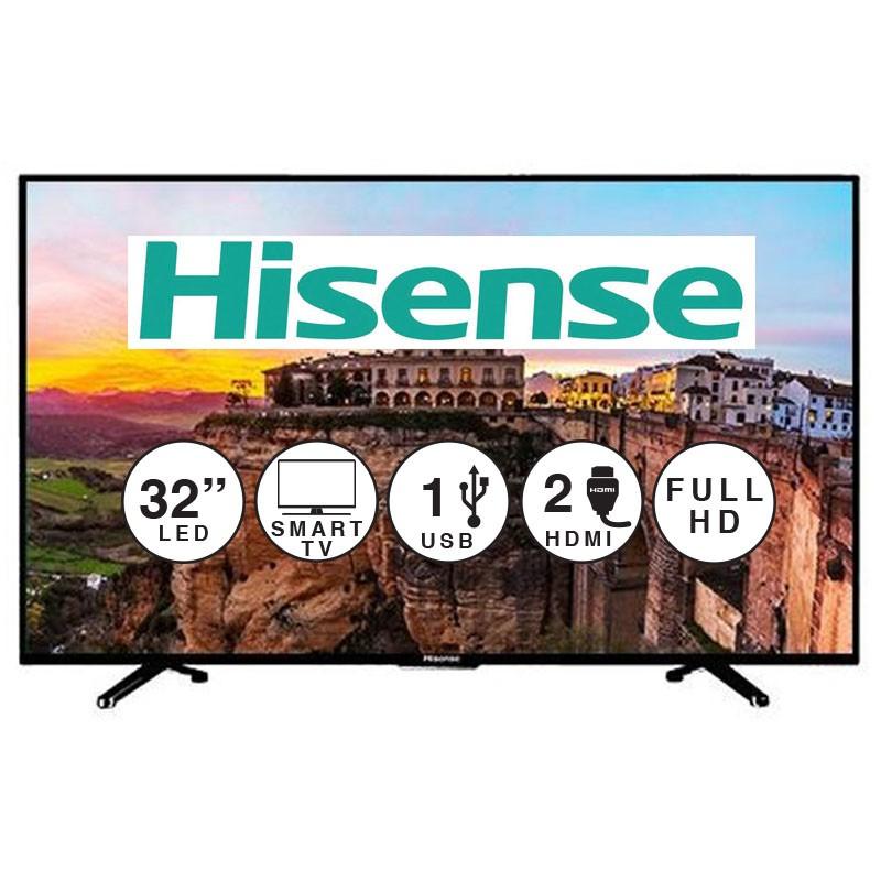 """Woolworth: Pantalla LED 32"""" Smart TV Full HD Hisense"""