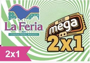 La Feria de Chapultepec Mágico: cupón de 2x1