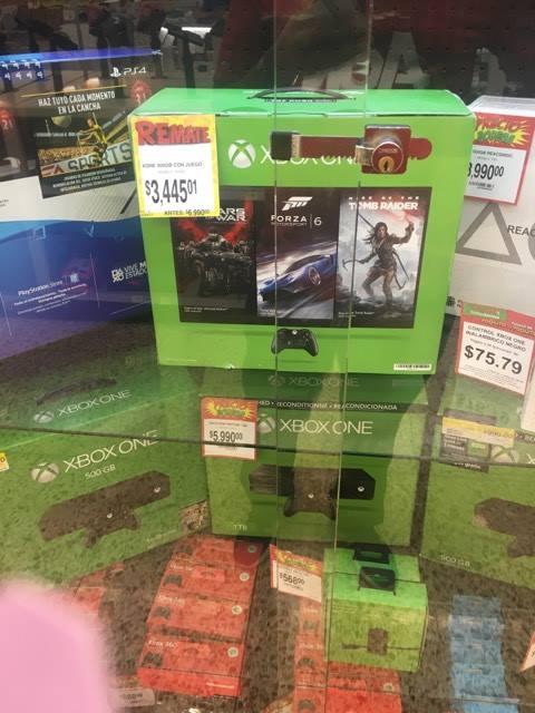 Bodega Aurrerá Arboledas Gdl: Xbox One a $3,445.01