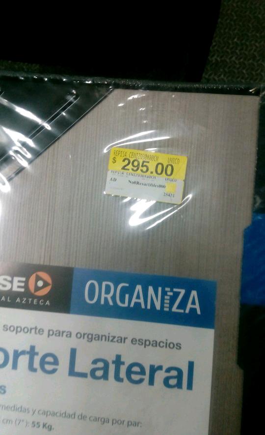 Walmart Uruapan: repisa ultima liquidación $45.01