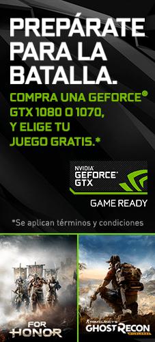 Cyberpuerta: Tarjetas de video GTX 1070 con descuento