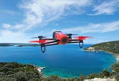 Amazon: Cuadracóptero Parrot Bebop Quadcopter Drone - Red HD 1080p