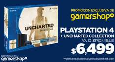Gamers Retail: consola PS4 + Uncharted