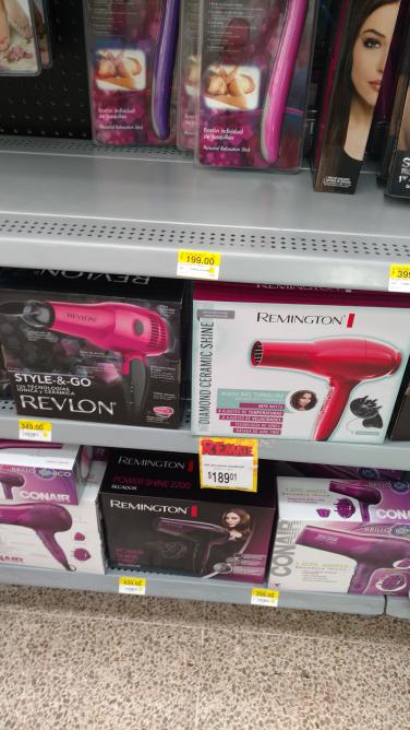Bodega Aurrerá Cantil: secadora de cabello Remington a $189.01