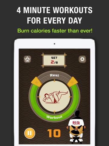 App Store: Tabata! HD app con rutina de ejercicio para ipad