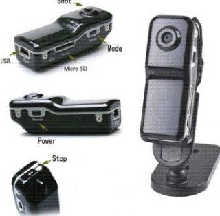 Linio: Mini cámara DVR MD80