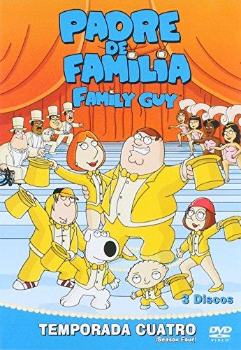 Amazon MX: Padre de Familia 4 Temporada en DVD a $42 pesos