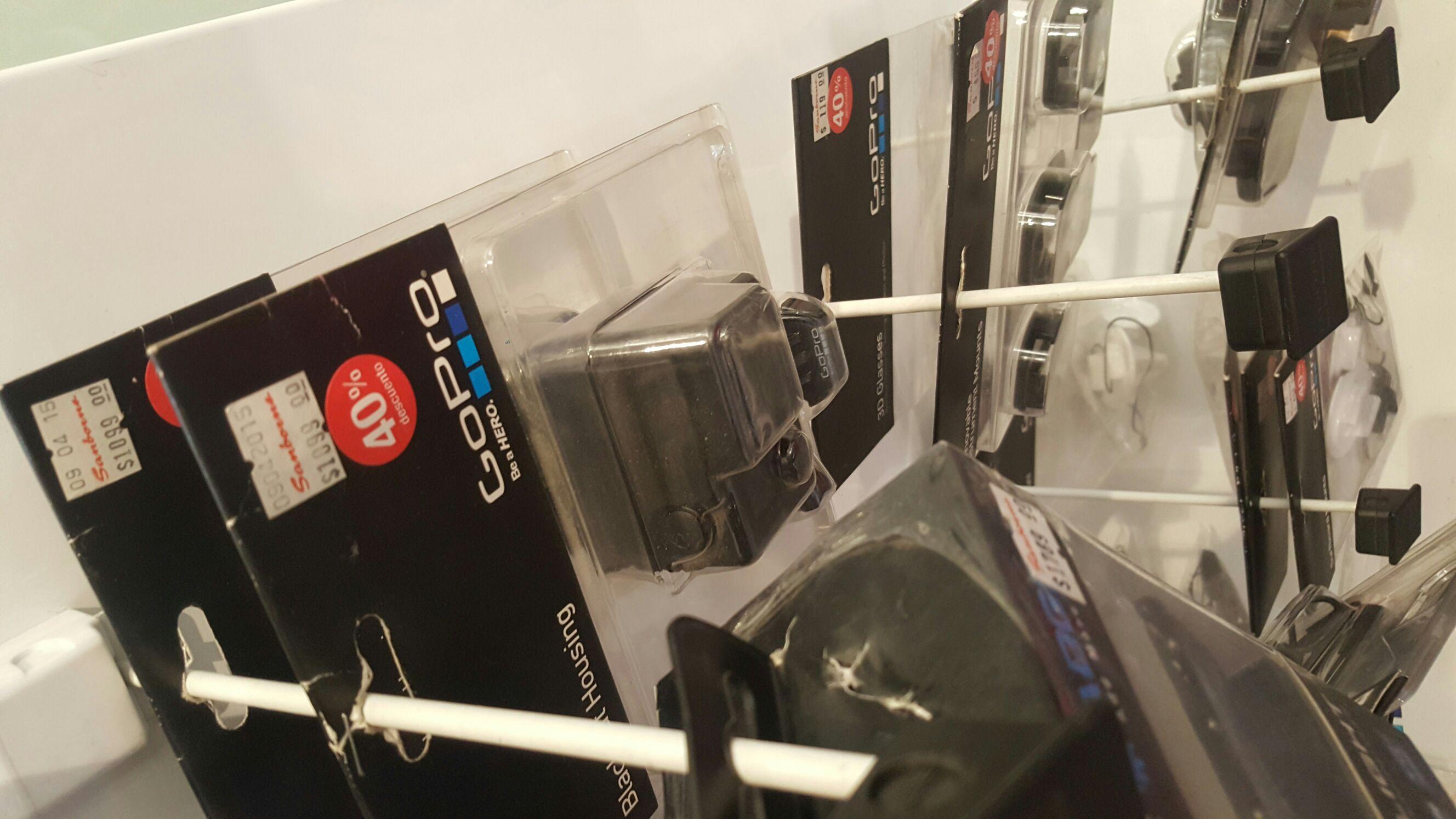 Sanborns: Carcaza para GoPro Hero 4 Black o Silver
