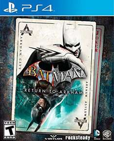 MixUp: Batman Return to Arkham para PS4