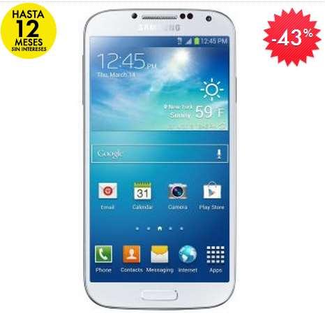 Linio: Samsung Galaxy S4 desbloqueado $5,849 y 12 meses sin intereses