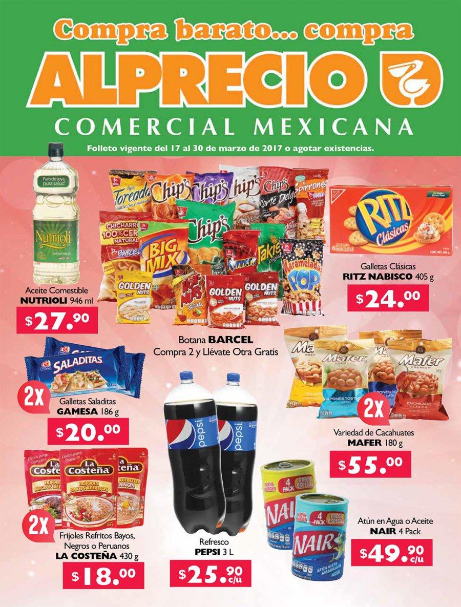 Alprecio: comercial mexicana folleto compra barato