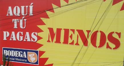 Bodega Comercial Mexicana: folleto precios bajos.